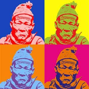 Photoshop tutorial - ilustração ao estilo Andy Warhol