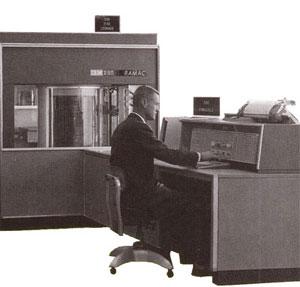 IBM RAMAC 305 disco rígido