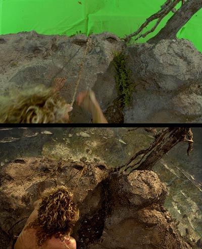 Cast Away - Tom Hanks - efeitos visuais