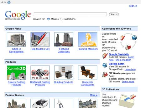Google 3D Warehouse