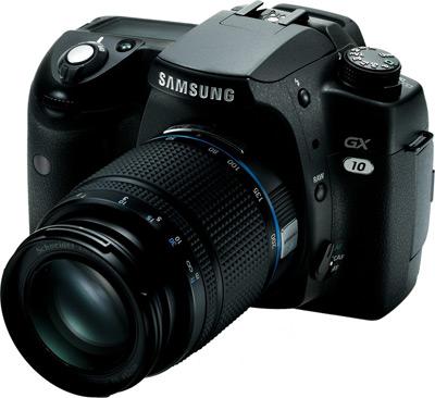 Samsung GX-10 DSLR máquina digital