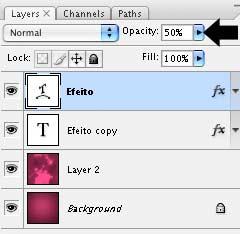 photoshop create warped text