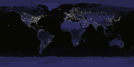 Planeta Terra - Noite