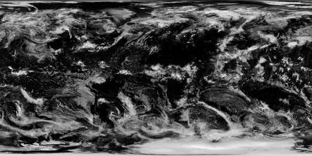 Planeta Terra - Nuvens